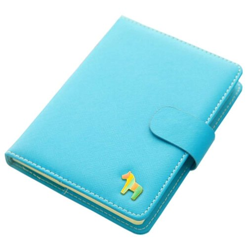 Blue Notebook Portable Office Mini Pocket Portable Schedule Personal Organizer