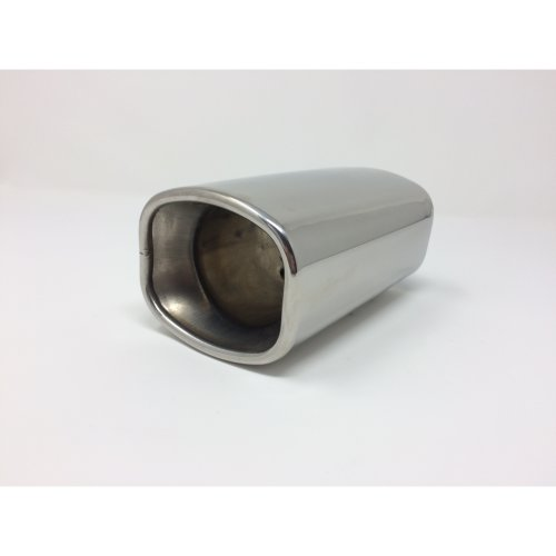 Square Stainless Steel Tip Exhaust 40mm - 60mm Top Quality Exhaust Tip