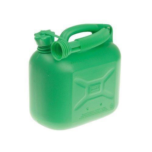Silverhook CAN2 Unleaded Petrol Can & Spout Green 5 Litre