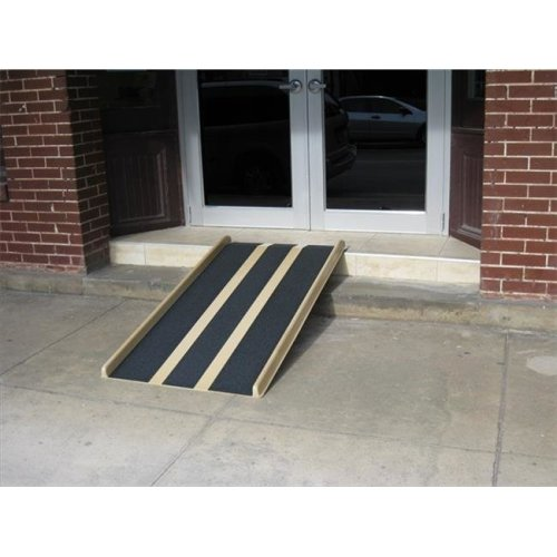 Travel Ramp 5 ft. With Extra Rubber Backing Ramp