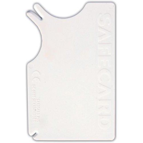 Safecard Tick Remover, 8 × 5 Cm, White - Remover Trixie 2299 Dog -  safecard remover trixie 2299 dog