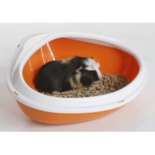 Concha Small Animal Litter Tray Assorted 36x26.5x15.5cm