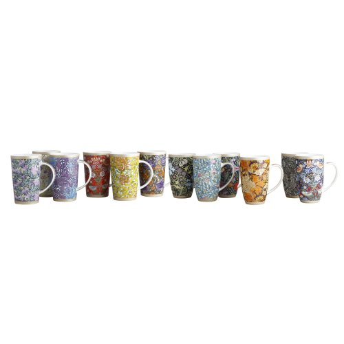 84fb6240d88 Maxwell Williams 420 ml Porcelain William Morris Wandle Conical Mug ...