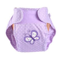 Lovely Butterfly Baby Leak-free Diaper Cover With Magic Tape (6-12 Months)