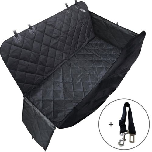travel inspira Dog Seat Cover for Pets Large Pet Car Back Seat Covers Hammock Cars SUVs Trucks Water Resistant Nonslip