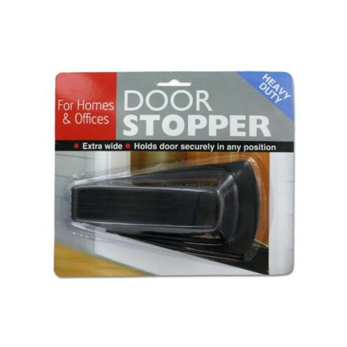 Bulk Buys HT017-96 Heavy Duty Door Stopper for Homes or Offices - Pack of 96