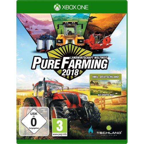 Pure Farming 2018 - Landwirtschaft weltweit - D1 Edition (XBox ONE)