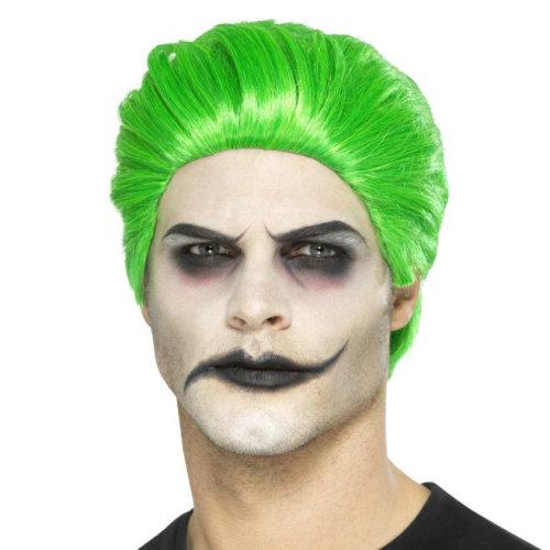 Slick Trickster Joker Wig