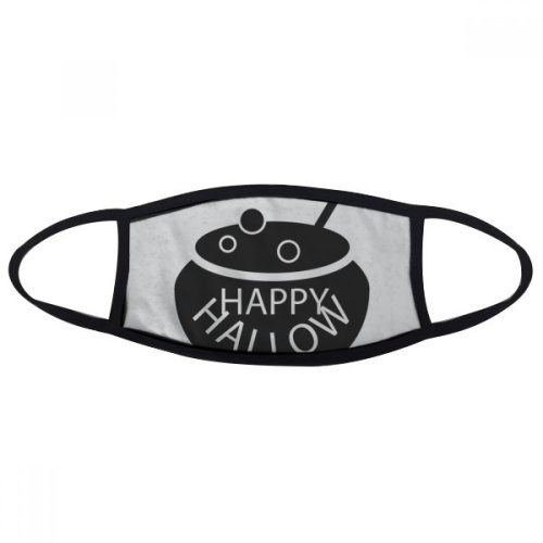 A Pot Of Black Halloween Face Anti-dust Mask Anti Cold Maske Gift