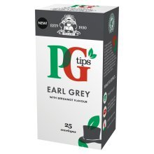 Pg Tips Earl Grey Enveloped Tea Bags 25s