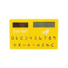 2Pcs Lovely Pocket Calculator Special Calculator Solar Calculator