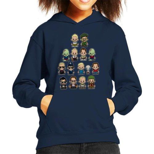 The Adventures Of Simon And Nick Kid's Hooded Sweatshirt