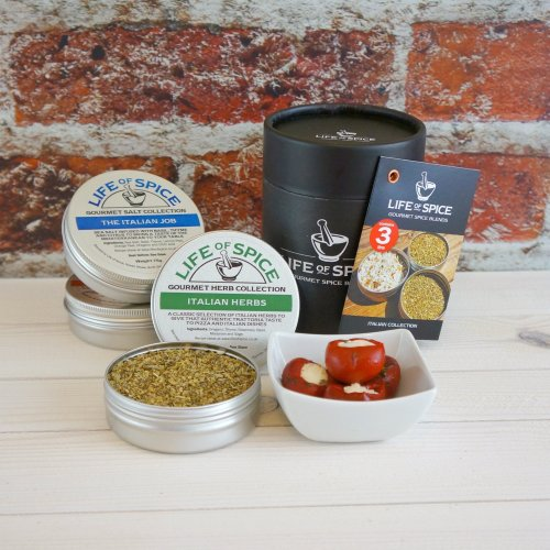 Life of Spice Italian Collection - The Italian Job, Pepper Smurf and Italian Herbs