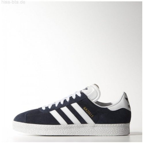 Adidas Originals Gazelle II Mens Sports Casual Trainer Shoes Navy