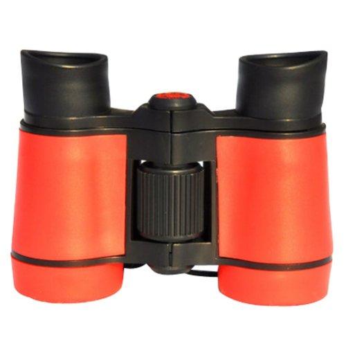 Children High Definition Telescope Binocular Mini Portable Telescope Toys Red
