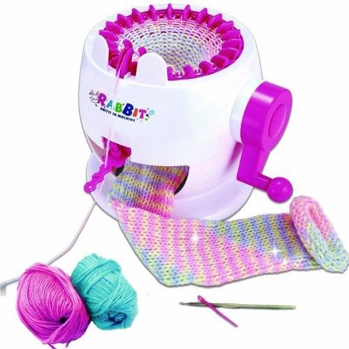 deAO Knitting Mill Machine Children's Craft Kits for Knitting