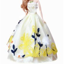 Set of 2 New Decent Beautiful Wedding Dress Skirt For 11.81-inch Doll-017