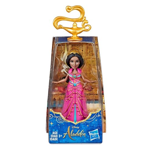 Disney Collectible Princess Jasmine Small Doll in Pink Dress