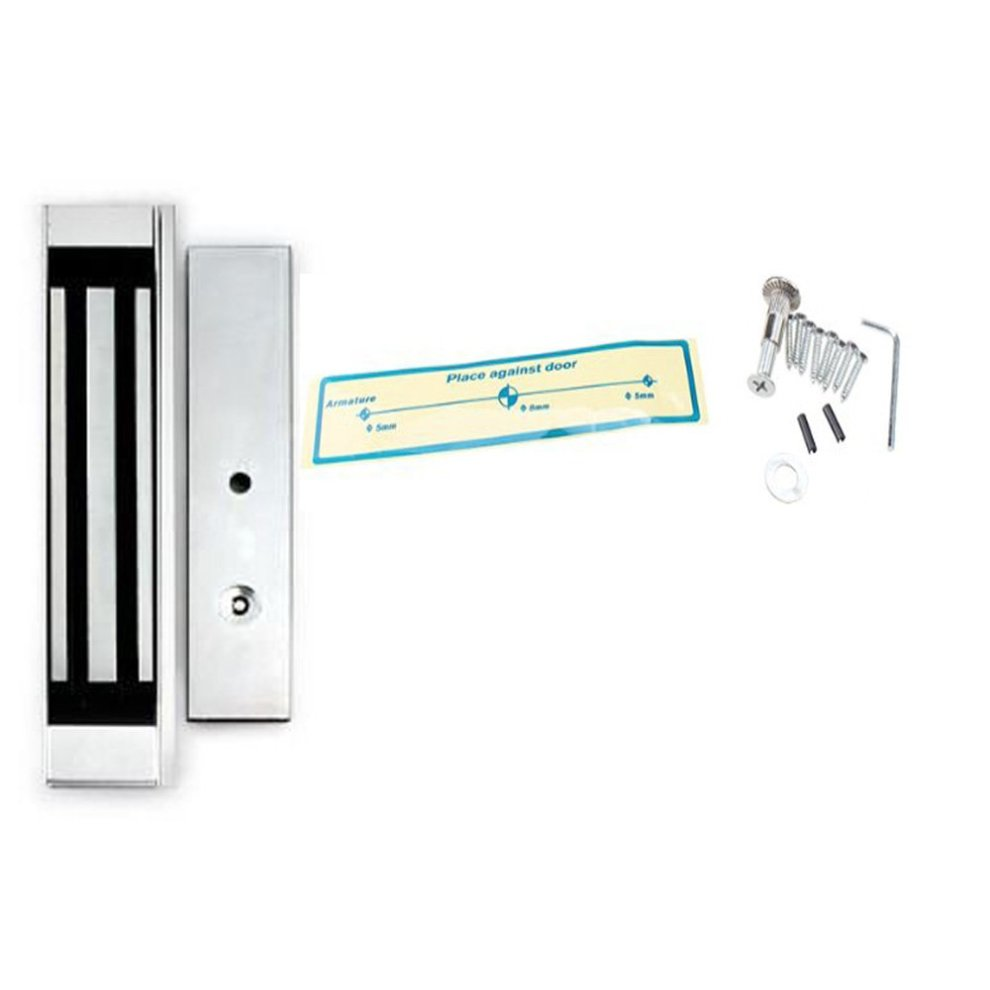kkmoon Complete DIY Full Set RFID Door Access Control Kit for Single Door  Magnetic Lock 180Kg/396LBS Electric Lock Pin Card Door Bell with Remote