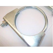 universal exhaust u clamp bolt heavy duty TV pipe hose 38mm x 4, Pk x 4