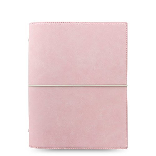 Domino Soft A5 Organiser Pale pink
