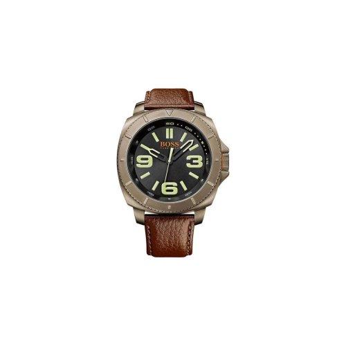 Hugo Boss 1513164 Men's Brown Leather Strap Quartz Dial Watch
