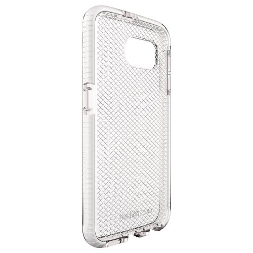 Genuine Tech21 Evo Check Case Cover for Samsung Galaxy S6 (T21-4427) - Transparent