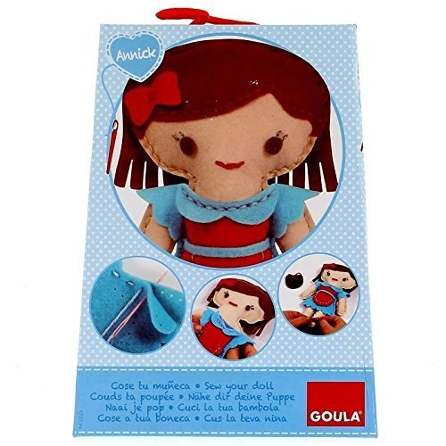 "Goula ""Annick Sew Your Own"" Doll Kit"