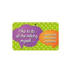 Fun Sign - I Do All The Talking Myself