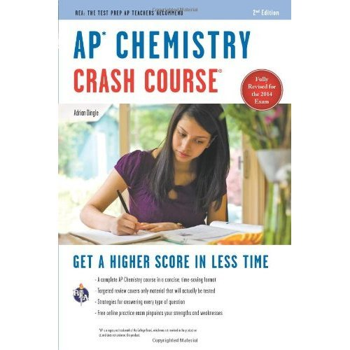 AP(R) Chemistry Crash Course, 2nd Ed., Book + Online (Advanced Placement (AP) Crash Course)