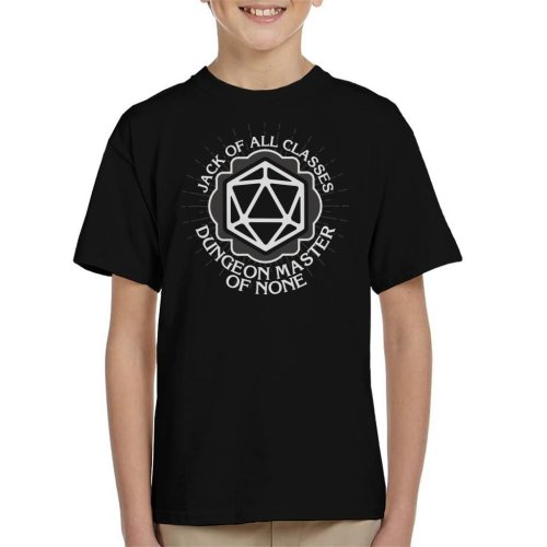 Master Of None Dungeons And Dragons Kid's T-Shirt