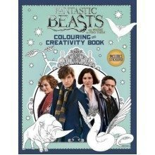 Fantastic Beasts and Where to Find Them: Colouring and Creativity Book (with Stickers)