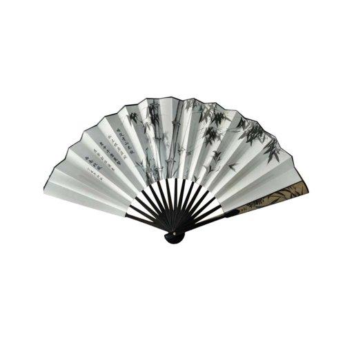 Creative Chinese Style Folding Fan Summer Fan Silk Men's Fan