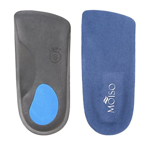3a32366249 MOISO Premium 3/4 Length Orthotic Insoles for Plantar Fasciitis Flat feet  with Arch Support for Men & Women (UK-XL: 11-13) on OnBuy
