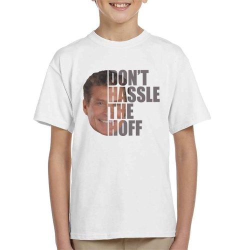 David Hasslehoff Half Head Text Kid's T-Shirt