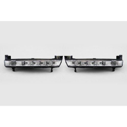 Front LED DRL light set Citroen C4 Picasso 07-13