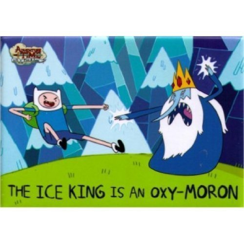Adventure Time The Ice King Is An Oxy-Moron Magnet