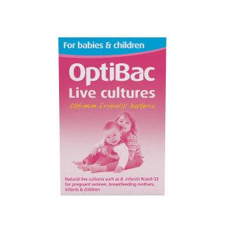 OptiBac Probiotics 'For babies & children', Pack of 90 Sachets