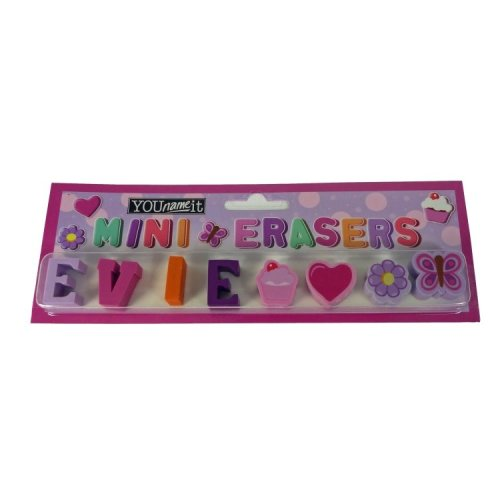 Childrens Mini Erasers - Evie
