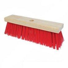 "11"" Hard Bristle Pvc Broom Head - Silverline 245081 11 279mm 12 -  broom pvc silverline 245081 11 279mm 12"