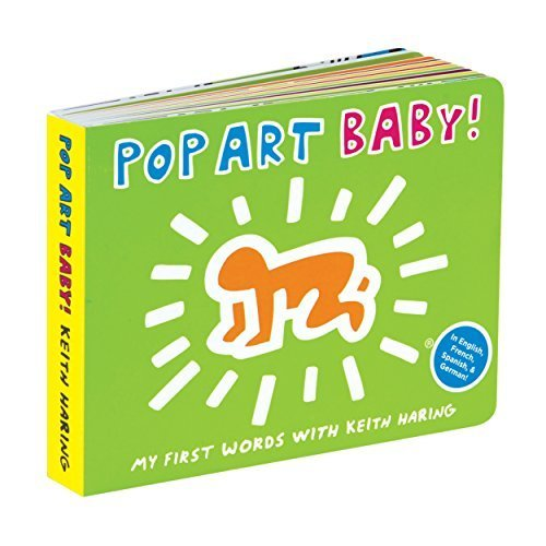 Keith Haring Pop Art Baby! (Mudpuppy Press)