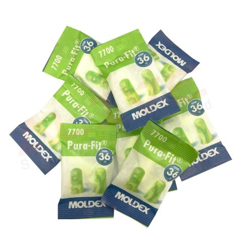 MOLDEX 7700 Pura-Fit Soft Foam Earplugs SNR: 36dB