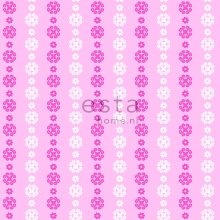 wallpaper lace soft pink and white - 136826
