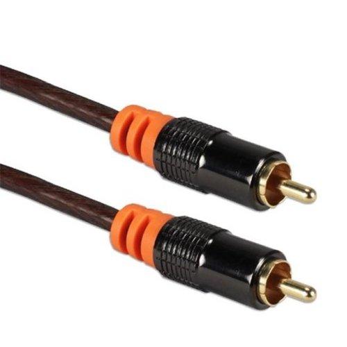QVS RCA1A-50 50 ft. HDTV RCA Premium Digital & SPDIF Subwoofer Audio Coax Cable