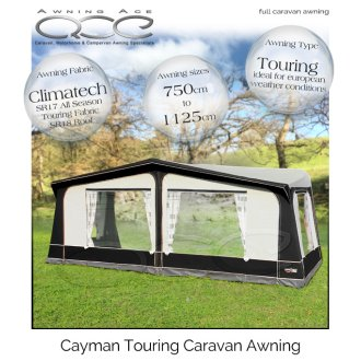 Camptech Cayman Traditional All Season Touring Caravan Awning
