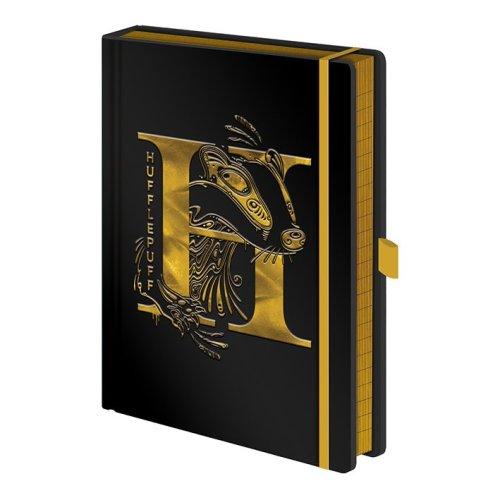 Harry Potter (Hufflepuff Foil)  Premium A5 Notebook