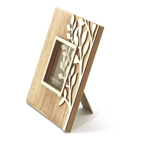 Natural Wooden Tree Photo Frame