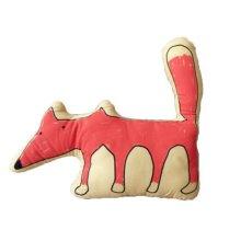 Cute Cartoon Creative Sofa Cushion and Pillow Birthday Gift--Fox