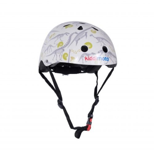 Kiddimoto Children's Bike / Scooter / Skateboarding Helmet - Fossil Design