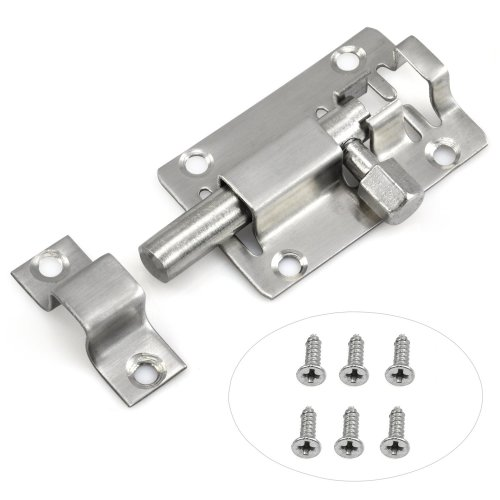 Trixes 75mm Door Lock for Bathroom Shed & Bedroom